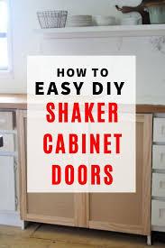 how to make easy shaker cabinet doors diy easy raised panel shaker cabinet doors diy cabinet