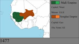 Mali Location On World Map by The History Of The Mali And Songhai Empires Every Year Youtube