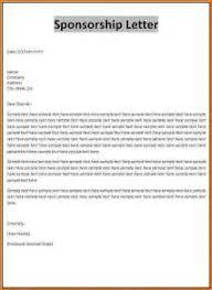 sample sponsor letter for visitor visa australia writing a cover
