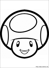 COLORIAGE  Toad 2