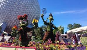 the topiaries of the 2017 epcot flower u0026 garden festival guide2wdw