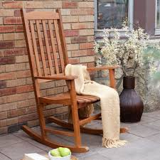 Rocking Chair Teak Wood Rocking Amazon Com Coral Coast Indoor Outdoor Mission Slat Rocking Chair