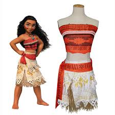 Matching Women Halloween Costumes Fmaily Matching Outift Mother Daughter Clothes Girls Moana