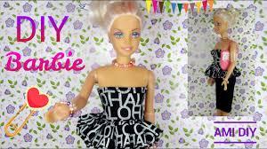 diy how to make barbie clothes handmade fashion doll
