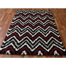 Black White Area Rug Black And White Shaggy Rugs Roselawnlutheran