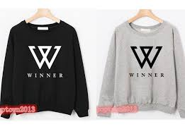 kpop star win winner empty nam tae mino crewneck sweatshirt