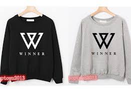 kpop star win winner empty nam tae mino crewneck sweatshirt