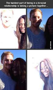 Interracial Dating Meme - the hardest part of interracial dating taking a picture together