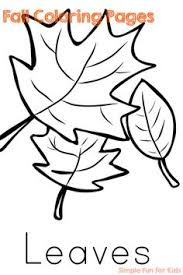 4 free printable fall coloring pages activities leaves