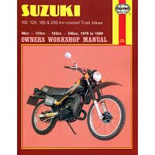 suzuki trail bikes haynes