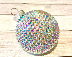 bling ornaments etsy