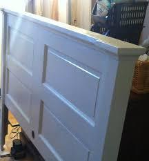 Barn Door Headboard For Sale by Opportunity Knocks Transforming An Old Door Into A Headboard