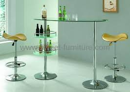 Glass Breakfast Bar Table Export Glass Bar Table Swivel Bar Chair Bar Stool Bar Furniture