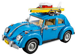 volkswagen beetle blue lego updates the bug with the all new 10252 volkswagen beetle