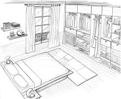 dessiner une chambre en perspective attrayant dessiner une en perspective 2 comment dessiner