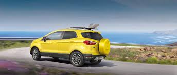ford ecosport small suv crossover ford uk