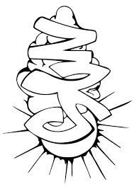 graffiti coloring pages sun clouds coloringstar
