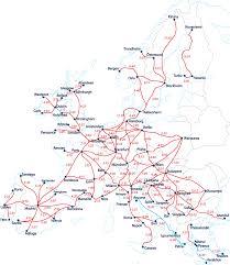 Eurail Map Maps Update 1024752 Europe Train Travel Map U2013 Europe Railway Map
