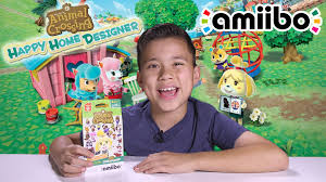 animal crossing happy home designer amiibo card action on the