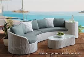 arkansas synthetic rattan sofa set