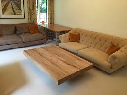 Large Coffee Table by Large Oak Beam Coffee Table Project 378 Abacus Tables
