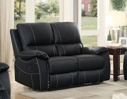 homelegance greeley reclining sofa set top grain leather match