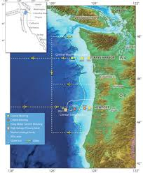 Map Oregon Coast by Coastal Endurance Ocean Observatories Initiative