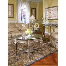 Overstock Round Coffee Table - galloway round cocktail table with glass top free shipping today