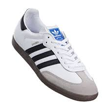 white samba adidas men samba og white black gum shoes