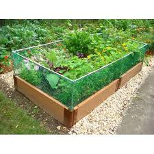 Pvc Raised Garden Bed - railroad ties garden beds awesome innovative project on h3