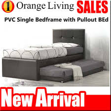 Pullout Bed Qoo10 Promotion 8021 Single Super Single Bedframe With