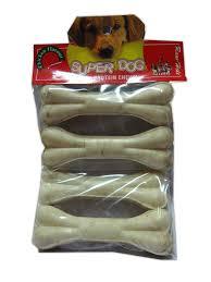 super dog high protein chew bone 4x1 small 5 inch dog chew items