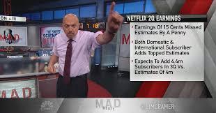Hit The Floor Netflix - cramer pinpoints the key strategy driving netflix u0027s earnings success