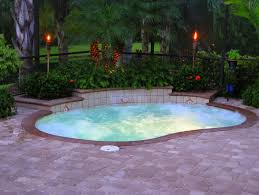 Small Backyard Above Ground Pool Ideas Above Ground Pool Decks For Small Yards Inground Pool In Small