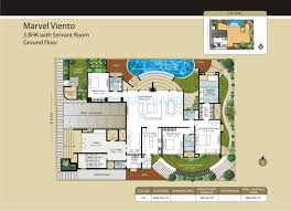 3 bhk apartment floor plan 3 bhk 3850 sq ft apartment for sale in marvel viento at rs