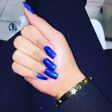 21 royal blue nail art designs ideas design trends premium
