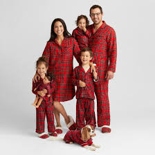 plaid family pajamas collection target