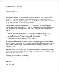 accounting cover letter financial trainee cover letter