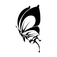 amazing tribal butterfly design black tribal butterfly