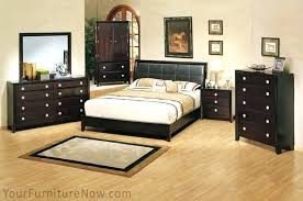 bedroom sets queen size bed and dresser set solid wood construction bedroom set with king