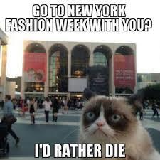 Fashion Meme - say goodbye to fashion month with these 10 stylish memes style