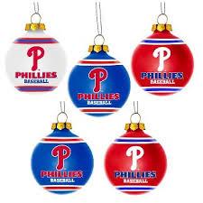 philadelphia phillies ornaments tree decorations