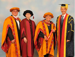 phd graduation gown resplendent in their robes association of national teaching fellows