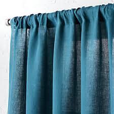 Teal Curtains Blue Curtains Cb2