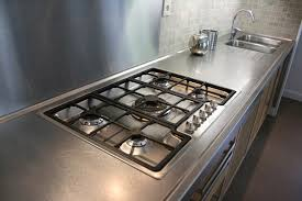 plan de travail inox cuisine plan de travail inox pour cuisine meuble et déco