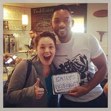Baby Announcement Meme - will smith helps announce a fan s pregnancy