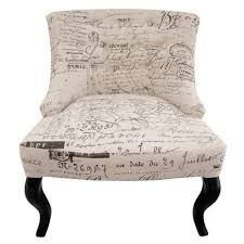 French Script Armchair Natural Script Antoinette Chair Dunelm