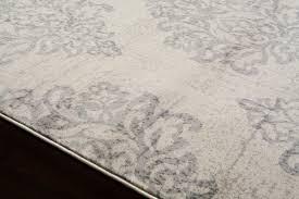 White And Gray Area Rug World Rug Gallery Elite Soft Gray Area Rug U0026 Reviews Wayfair