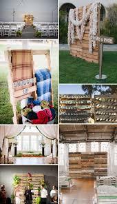 9 best pallet decor images on pinterest ceremony backdrop
