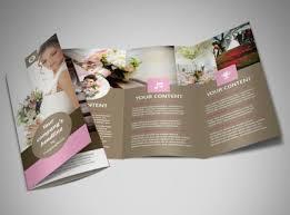 Wedding Pamphlet Template Wedding Florists Business Card Template Mycreativeshop